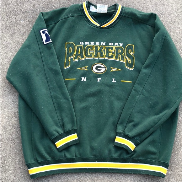 new styles 24917 3a8c5 Vintage 90s Green Bay Packers Crewneck